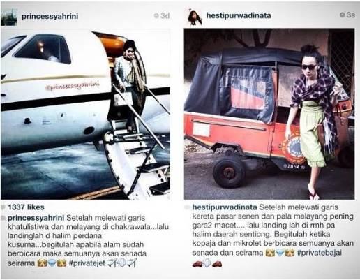Jahil Presenter Hesti Purwadinata Meledek Instagram Syahrini