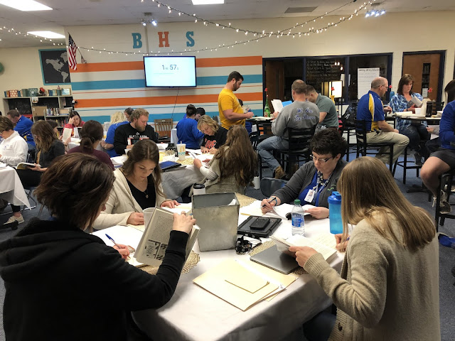 Authentic PD: 7 Benefits of a Book Tasting Event for Your Teachers