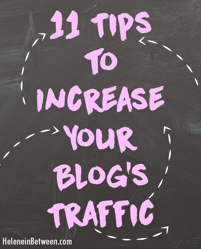 11 tips to increase your blogs traffic