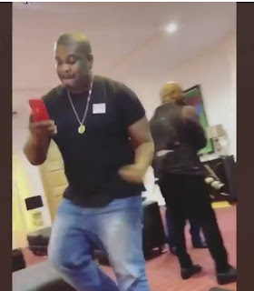 Don Jazzy Shows His Dance Moves, Fan Asks Him To Go And Marry 4