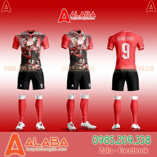 Áo Bayern Tự Thiết kế Đẹp 2019 - Mã ALB BA01