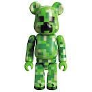 Minecraft Creeper Bearbrick 100% Figure