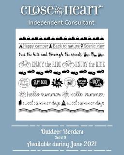 Outdoor Borders Stamp Set