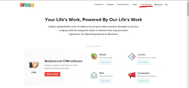 ZOHO MAIL - A BEST FREE EMAIL HOSTING SERVICE