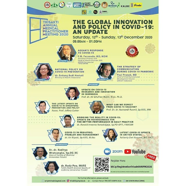 WEBINAR The Global Innovation and Policy in COVID-19: an Update
