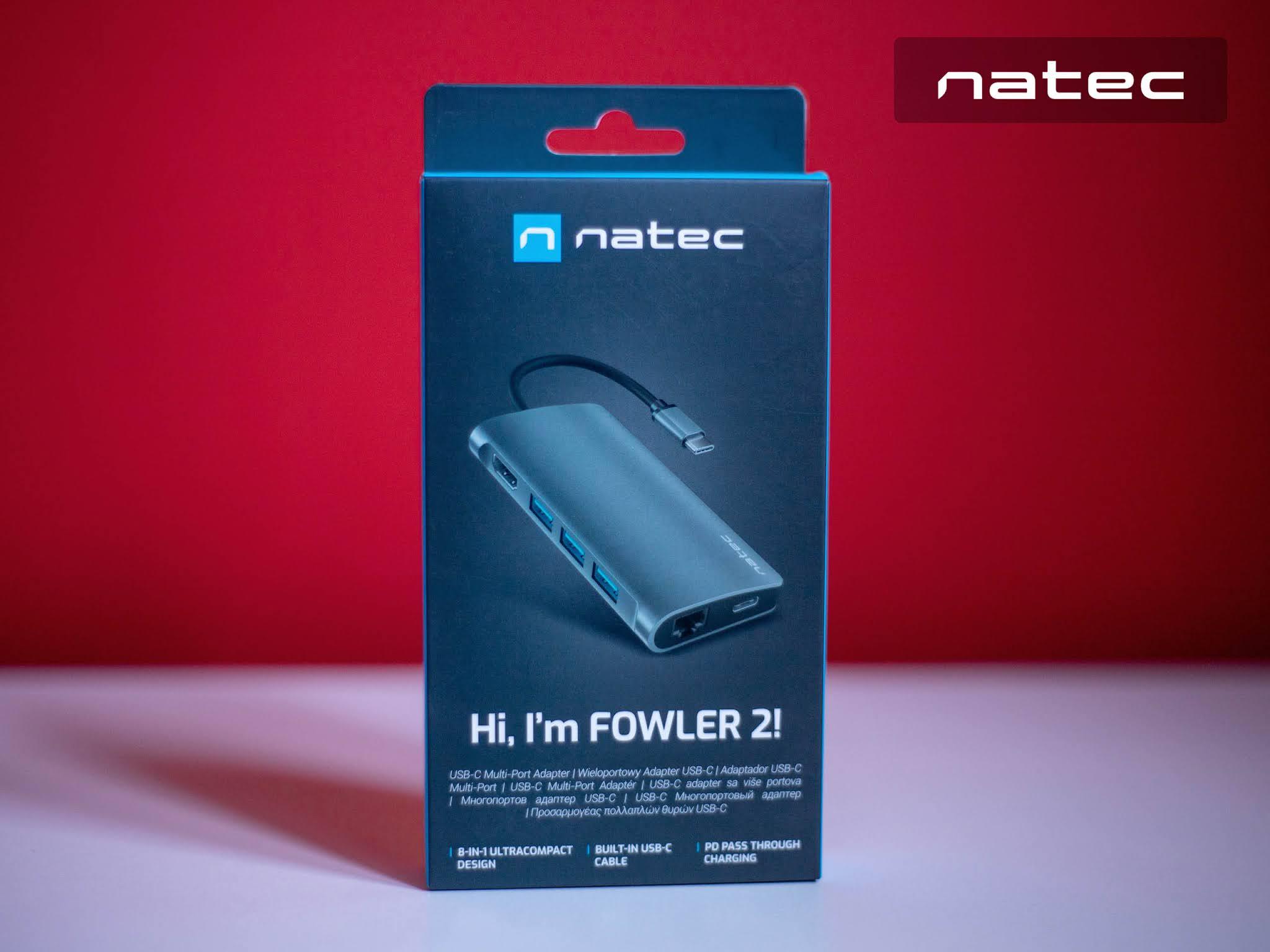 Natec Fowler 2 adapter multiport