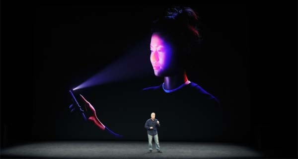 Tampilan Face ID Di Iphone X