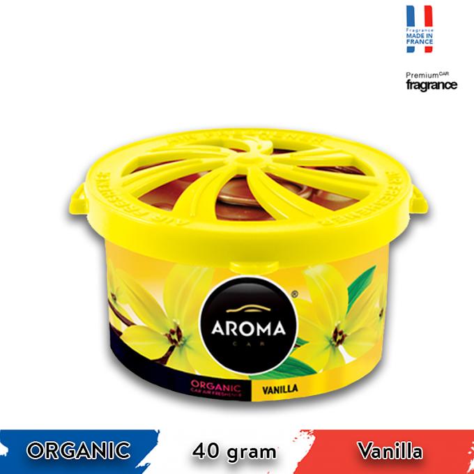Sáp thơm ô tô Aroma Car Organic 40g - Vanilla