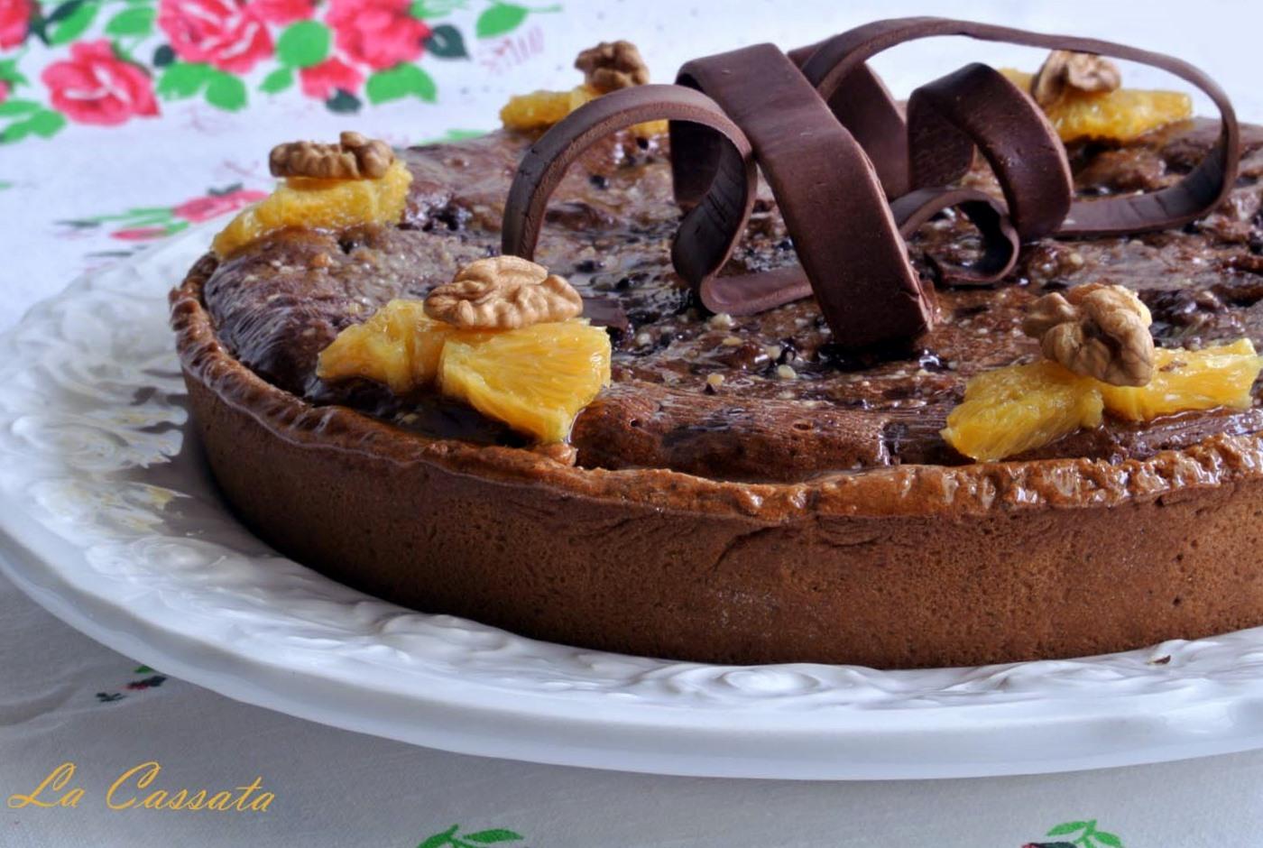 Crostata Brownies Allolio Doliva Di Luca Montersino Versione Per
