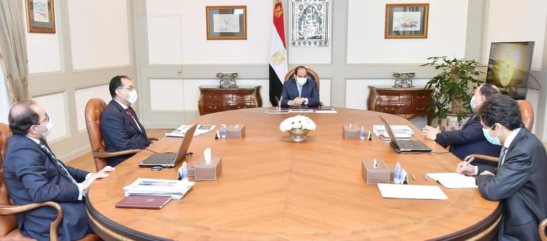 الرئيس السيسي يطلع علي جهود الدولة لدعم انشطة المشروعات المتوسطة والصغيرة ومتناهية الصغر