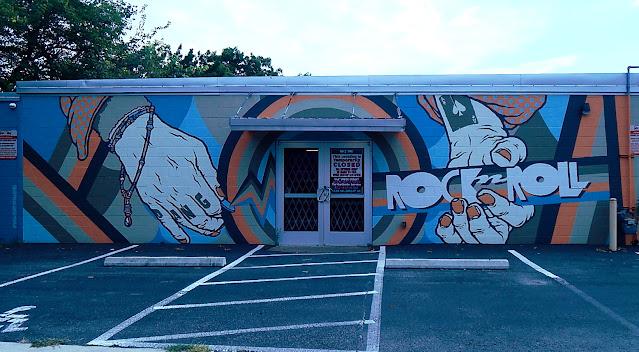Rock n Roll Rentals Mural