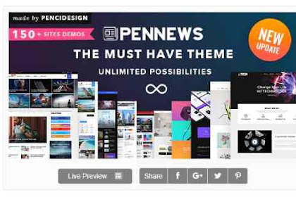 ⁠PenNews v6.5.7  Multi-Purpose AMP WordPress Theme