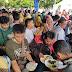 Makan Gratis Pesta Rakyat Samarinda Dipenuhi Ribuan Warga