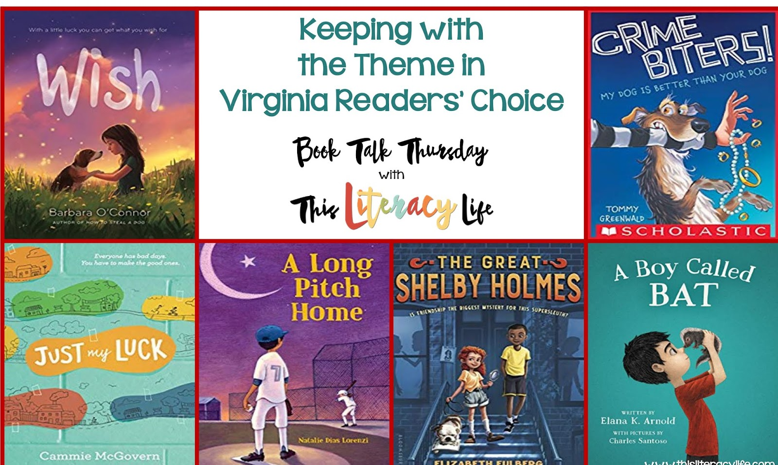 A common theme of friendship runs through all of these Virginia Readers' Choice books. See how they can help so many students as they work on making new friends each day.
