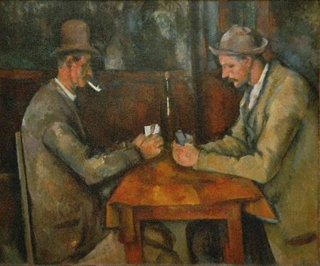 Os Jogadores de Cartas de Cezanne