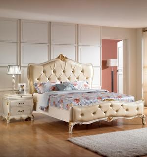 10 Desain tempat tidur ukir model eropa mewah terbaru