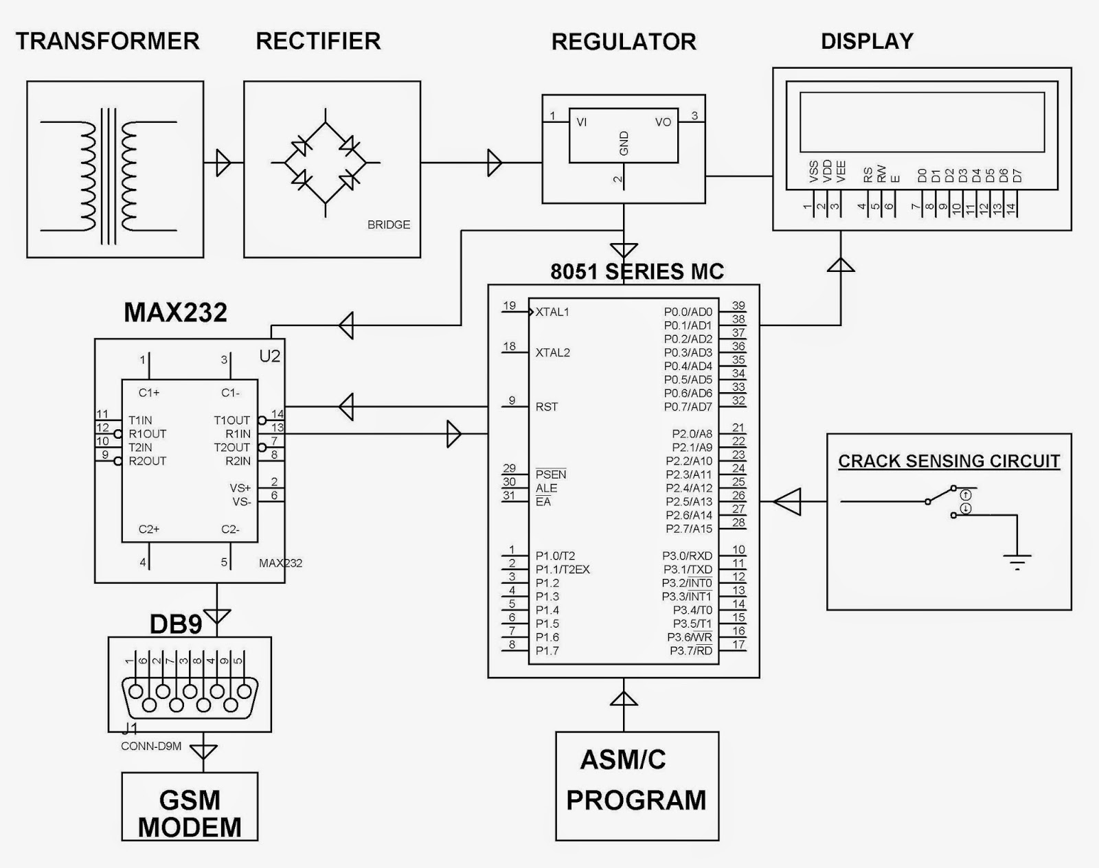 automatic gate circuit diagram pictures