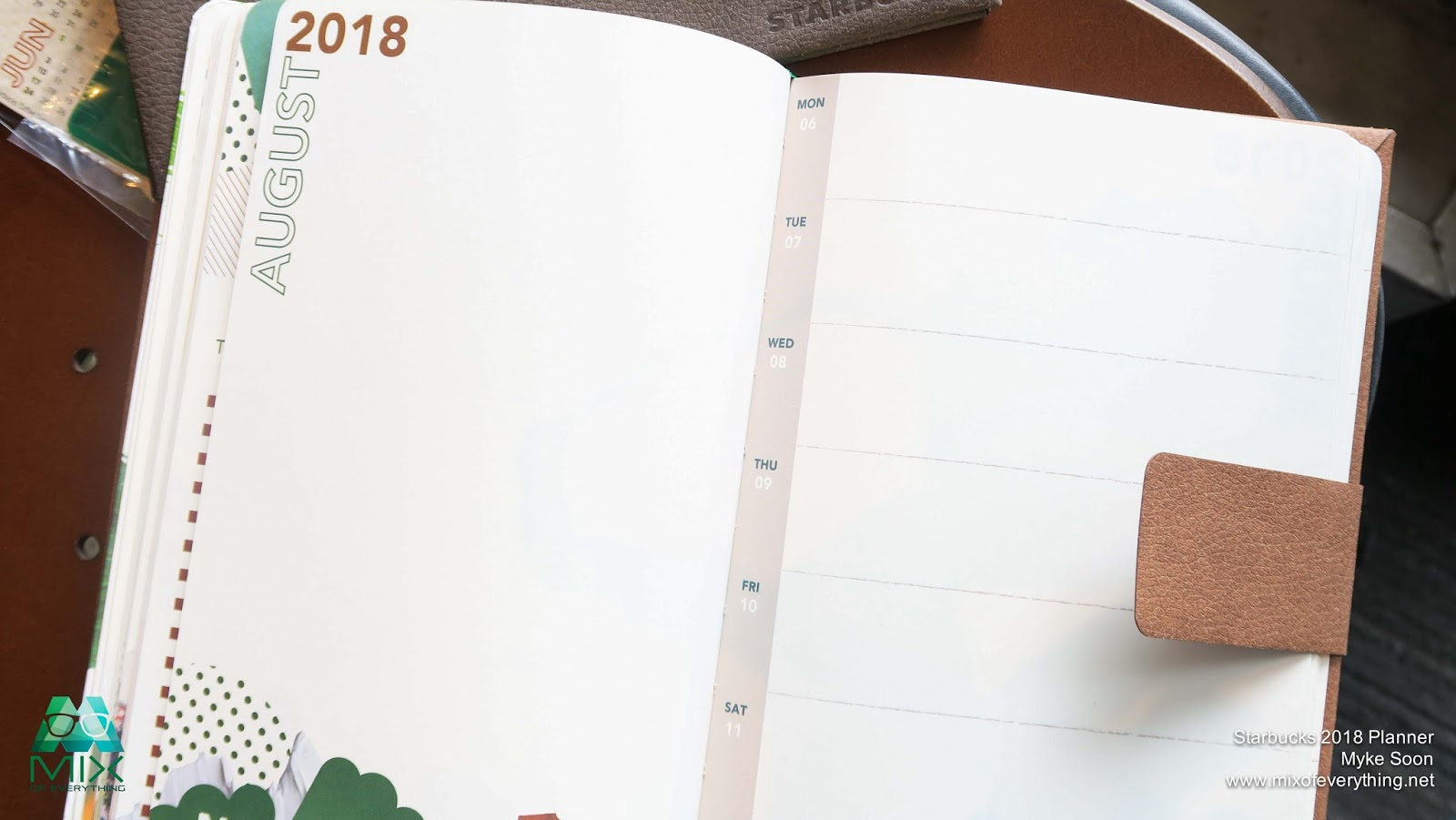 Why you should get the Limited Edition Starbucks 2018 Planner ...