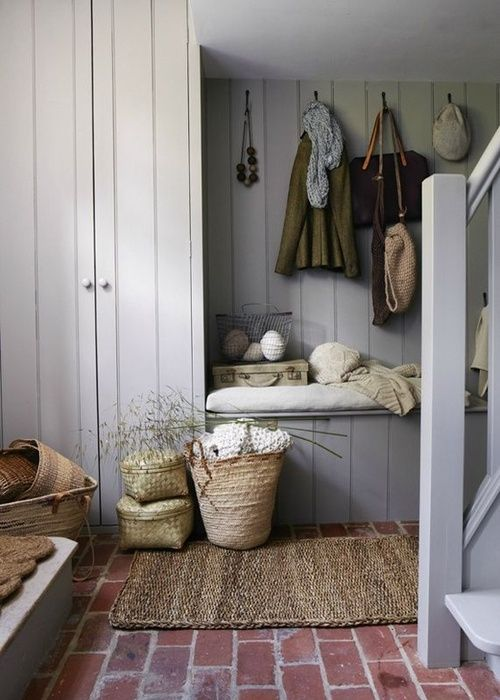 Eye For Design: Create Authentic Farmhouse Style Mudrooms Vintage Farmhouse Designs Html on vintage shabby chic designs, vintage condo designs, funky junk interiors designs, vintage farm designs,