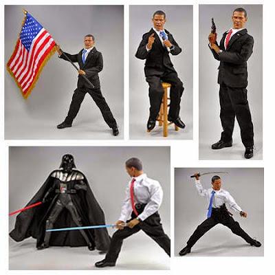 Figura de acción de Barack Obama