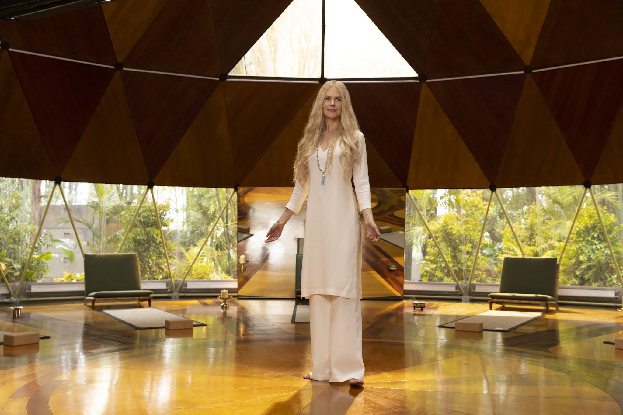 Nicole Kidman en una escena de 'Nine Perfect Strangers', la nueva miniserie de David E. Kelley para Amazon Prime Video