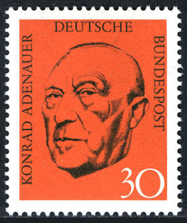 Konrad Adenauer Germany 1968