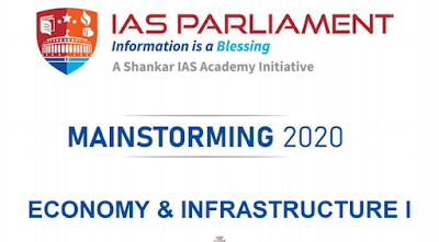 Shankar IAS Mainstorming Economy & Infrastructure Part-1 PDF Download