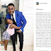 Photogist: AY Makun Showers Daughter With Loving Message As She Turns A Year Older