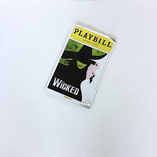 Wicked Broadway show playbill - arelaxedgal.com