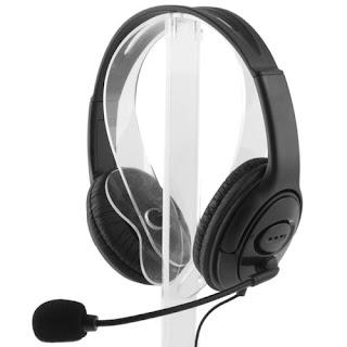 cuffie gaming con microfono per ps4 xbox maxexcell