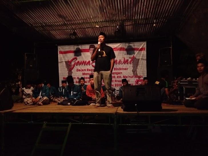 Sambut Kemenangan Jokowi, Pemuda Kampung Gemakan Shalawat