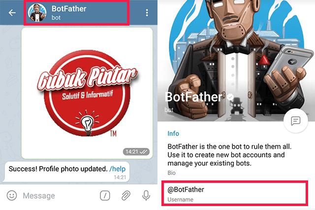 Cara Buat Username Telegram di PC
