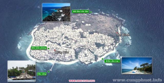 Địa điểm du lịch đảo Bé
