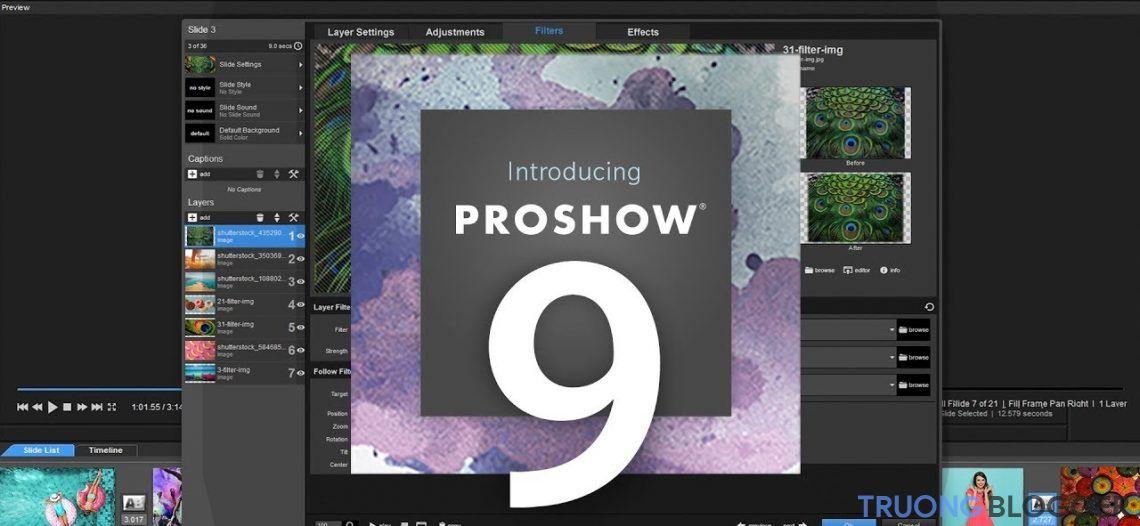 Download ProShow Producer 9 mới nhất - Full Active cài đặt cực dễ