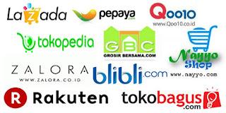 Ini dia 12 situs jual-beli online terbesar dan terpercaya di Indonesia: