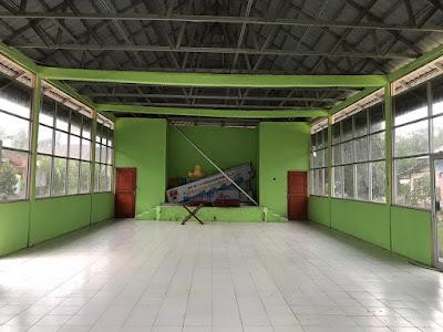 Mahasiswa KKN Unila Kerjasama Bangun Perpustakaan Kecamatan di Rawajitu Utara