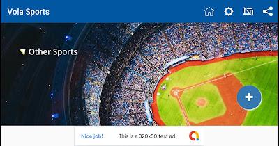 تطبيق مشاهدة المباريات والقنوات الرياضية Vola Sports بدون تقطع