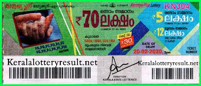kerala-lottery-result-20-02-2020-Karunya-Plus-KN-304,  kerala lottery, kerala lottery result,  kl result, yesterday lottery results, lotteries results, keralalotteries, kerala lottery, keralalotteryresult,  kerala lottery result live, kerala lottery today, kerala lottery result today, kerala lottery results today, today kerala lottery result, Karunya Plus lottery results, kerala lottery result today Karunya Plus, Karunya Plus lottery result, kerala lottery result Karunya Plus today, kerala lottery Karunya Plus today result, Karunya Plus kerala lottery result, live Karunya Plus lottery KN-304, kerala lottery result 20.02.2020 Karunya Plus KN 304 20 Febraury2020 result, 20 02 2020, kerala lottery result 20-02-2020, Karunya Plus lottery KN 304 results 20-02-2020, 20/02/2020 kerala lottery today result Karunya Plus, 20/02/2020 Karunya Plus lottery KN-304, Karunya Plus 20.02.2020, 20.02.2020 lottery results, kerala lottery result Febraury20 2020, kerala lottery results 20th Febraury2020, 20.02.2020 week KN-304 lottery result, 20.02.2020 Karunya Plus KN-304 Lottery Result, 20-02-2020 kerala lottery results, 20-02-2020 kerala state lottery result, 20-02-2020 KN-304, Kerala Karunya Plus Lottery Result 20/02/2020, KeralaLotteryResult.net