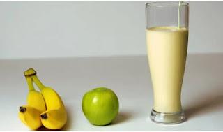 Vitamina de banana, amendoim