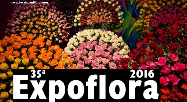 EXPOFLORA 2016– HOLAMBRA – SP