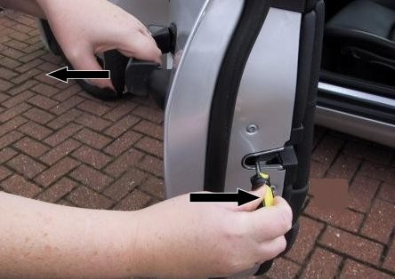 Car And Motorcycle Door Will Not Latch Close