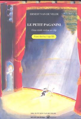 Le petit paganini vol 3 Partitions pour violon