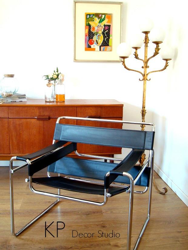 silla Wassily de Marcel Breuer. tiendas auténtico vintage en valencia
