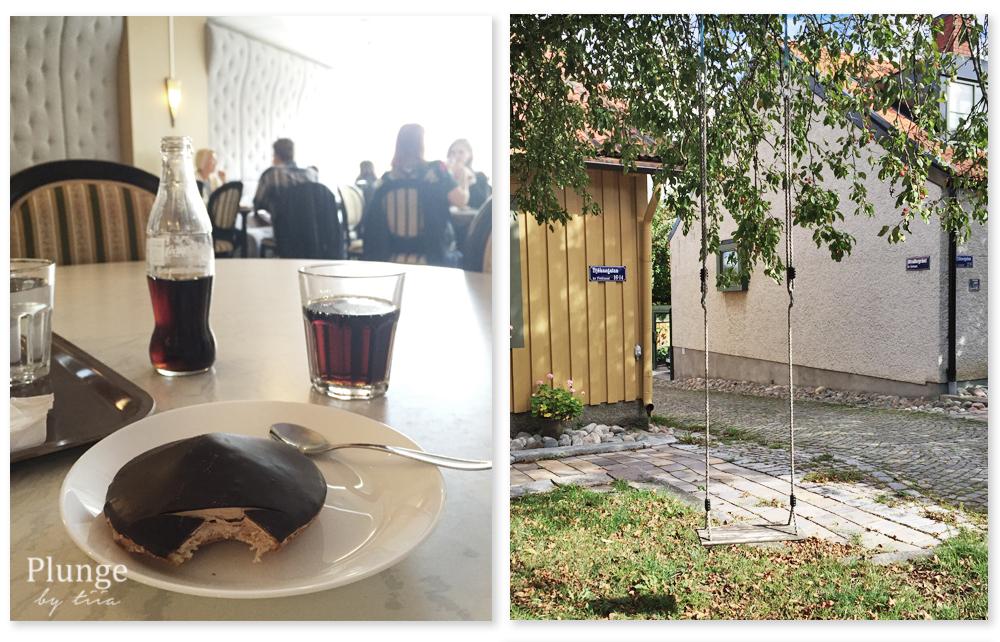 Coffee pause in Västerås