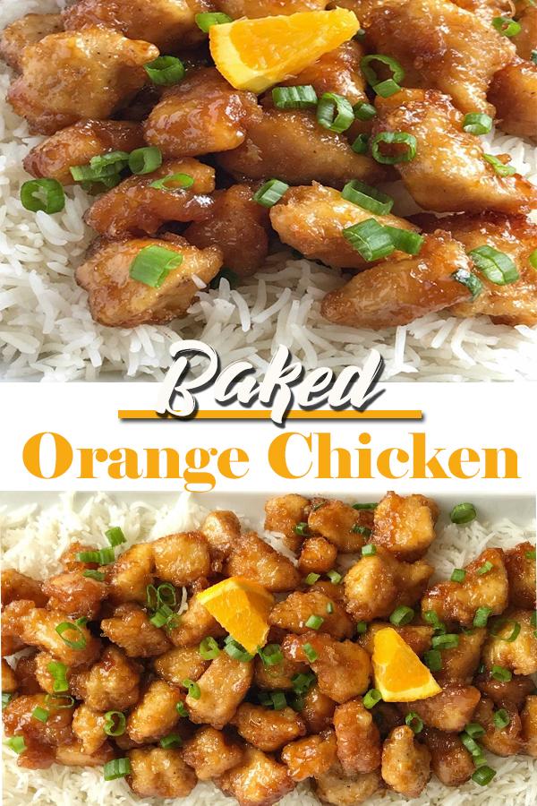 Baked Orange Chicken