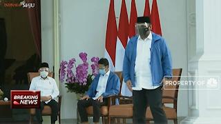 Resmi, Jokowi Tunjuk Yaqut GP Ansor jadi Menteri Agama