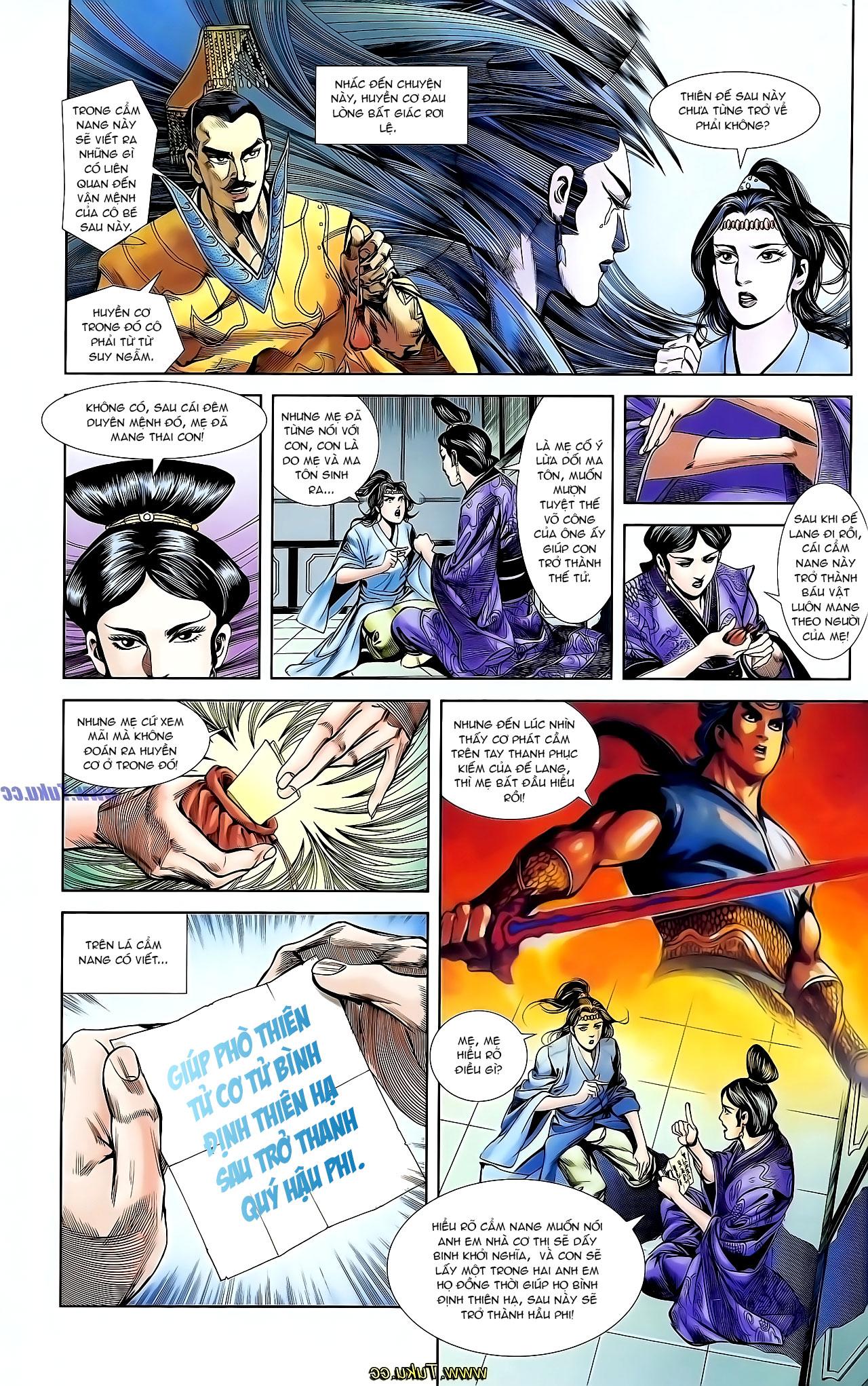 Cơ Phát Khai Chu Bản chapter 127 trang 21