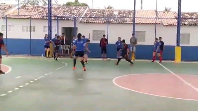 Arara City e Seleção de Bananeiras fazem um jogaço de futsal feminino