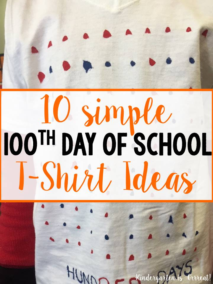 Kindergarten Is Grrreat 100th Day Of School T Shirt Ideas