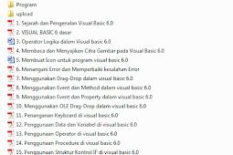 Ebook Pemrograman Visual Basic 6.0 Lengkap dari Pemula hingga Mahir